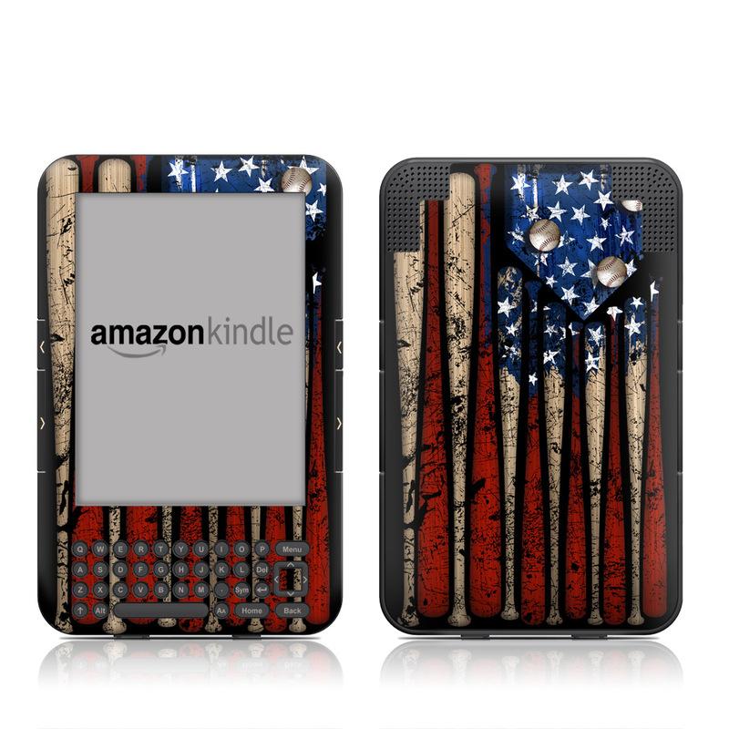 Old Glory Amazon Kindle Keyboard Skin