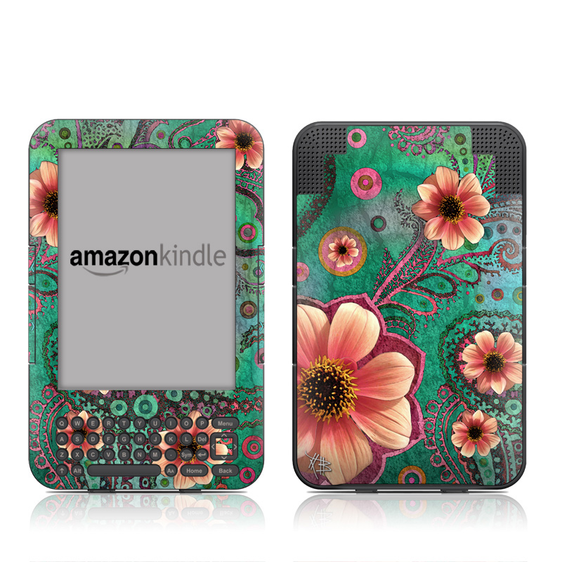 Paisley Paradise Amazon Kindle 3 Skin