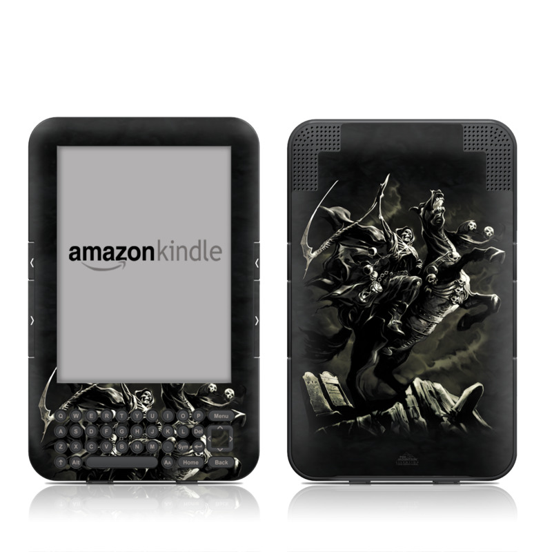 Pale Horse Amazon Kindle Keyboard Skin