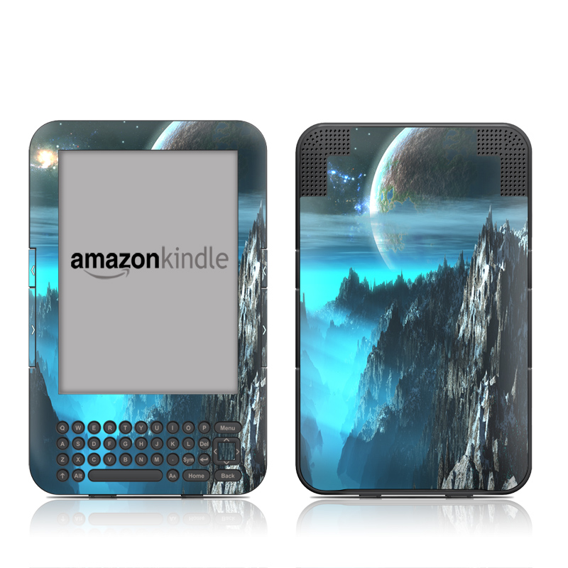 Path To The Stars Amazon Kindle Keyboard Skin