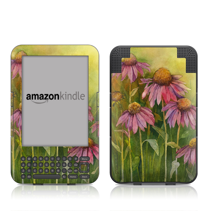 Prairie Coneflower Amazon Kindle Keyboard Skin