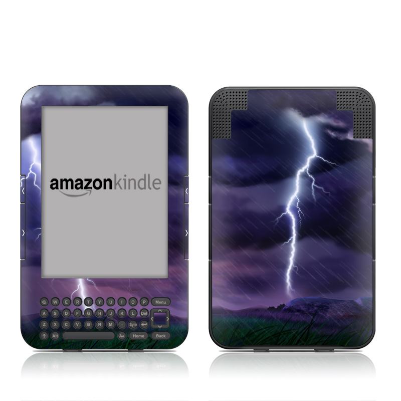 Purple Strike Amazon Kindle 3 Skin