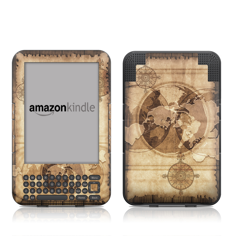 Quest Amazon Kindle Keyboard Skin