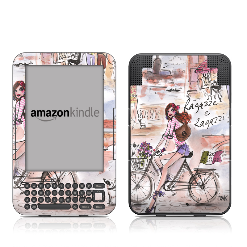 Ragazze e Ragazzi Amazon Kindle Keyboard Skin