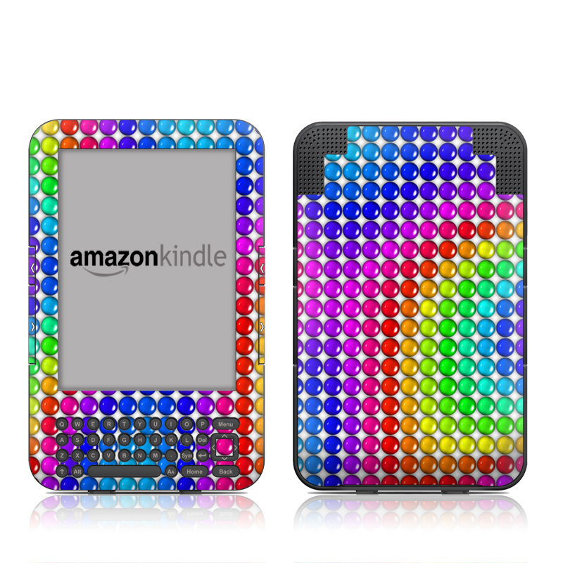 Rainbow Candy Amazon Kindle Keyboard Skin
