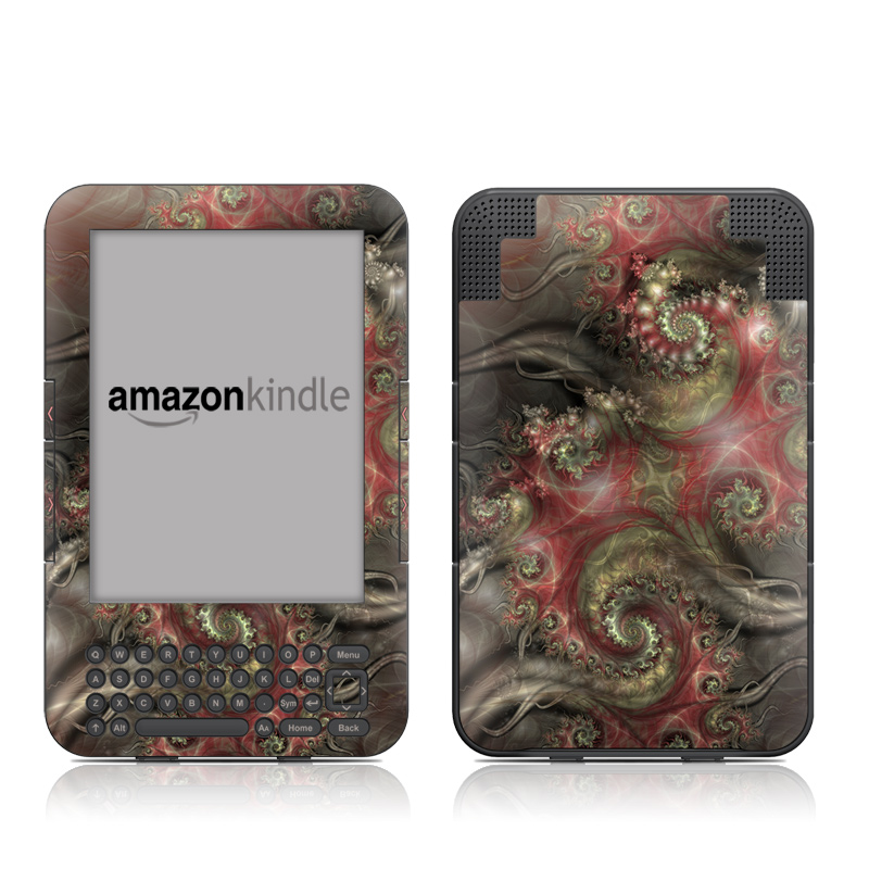 Reaching Out Amazon Kindle Keyboard Skin