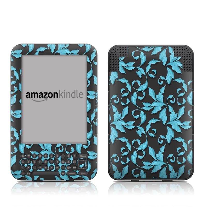 Relic Blue Amazon Kindle 3 Skin