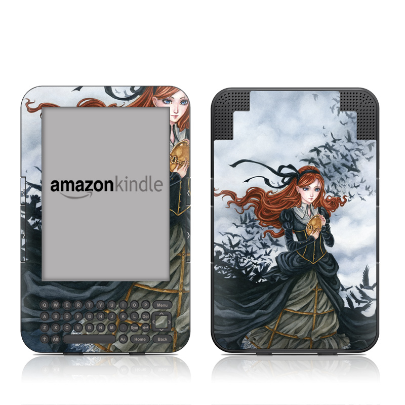 Raven's Treasure Amazon Kindle 3 Skin