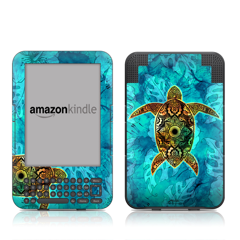 Sacred Honu Amazon Kindle Keyboard Skin