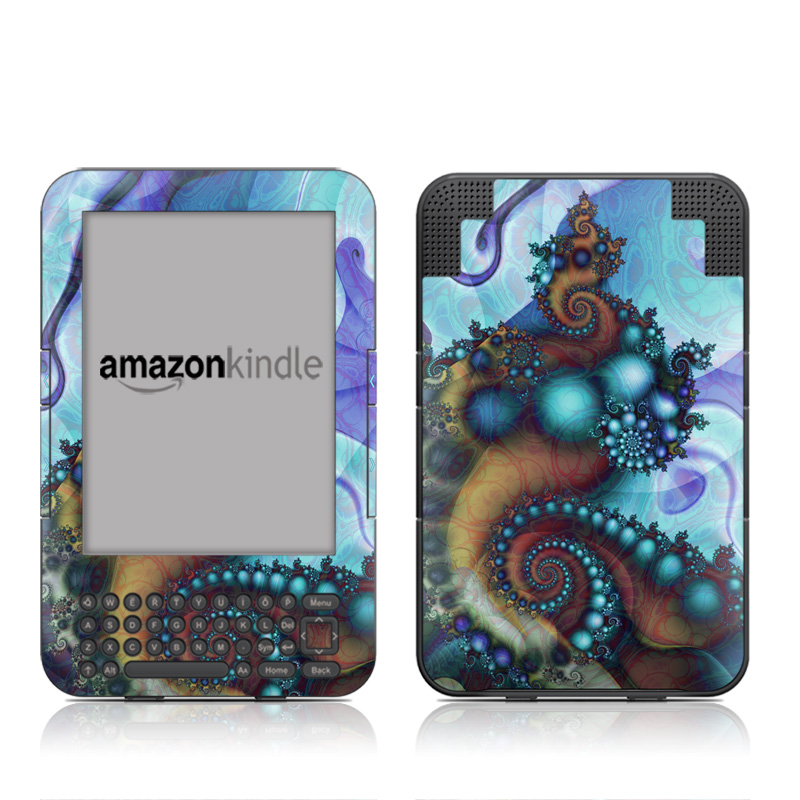Sea Jewel Amazon Kindle 3 Skin