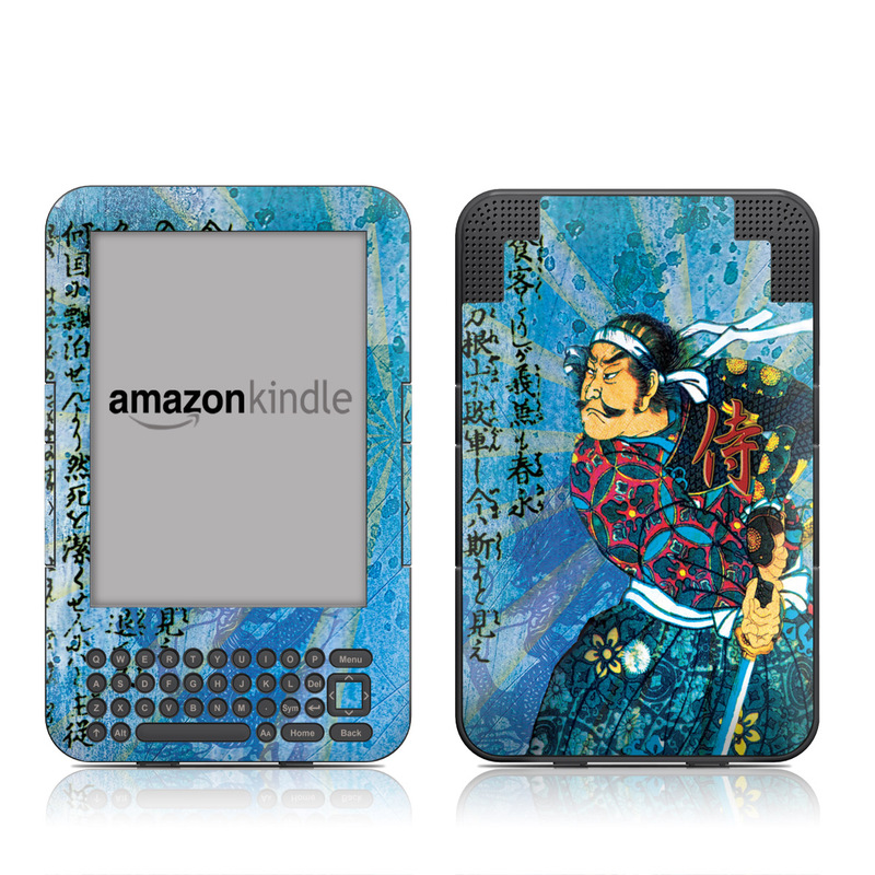 Samurai Honor Amazon Kindle Keyboard Skin