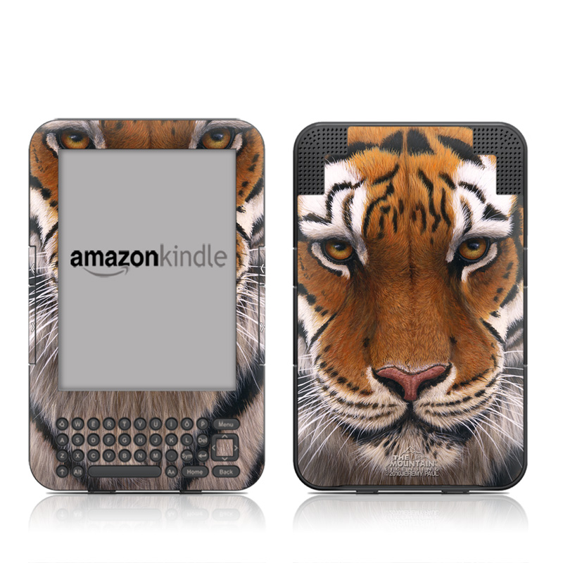 Siberian Tiger Amazon Kindle 3 Skin
