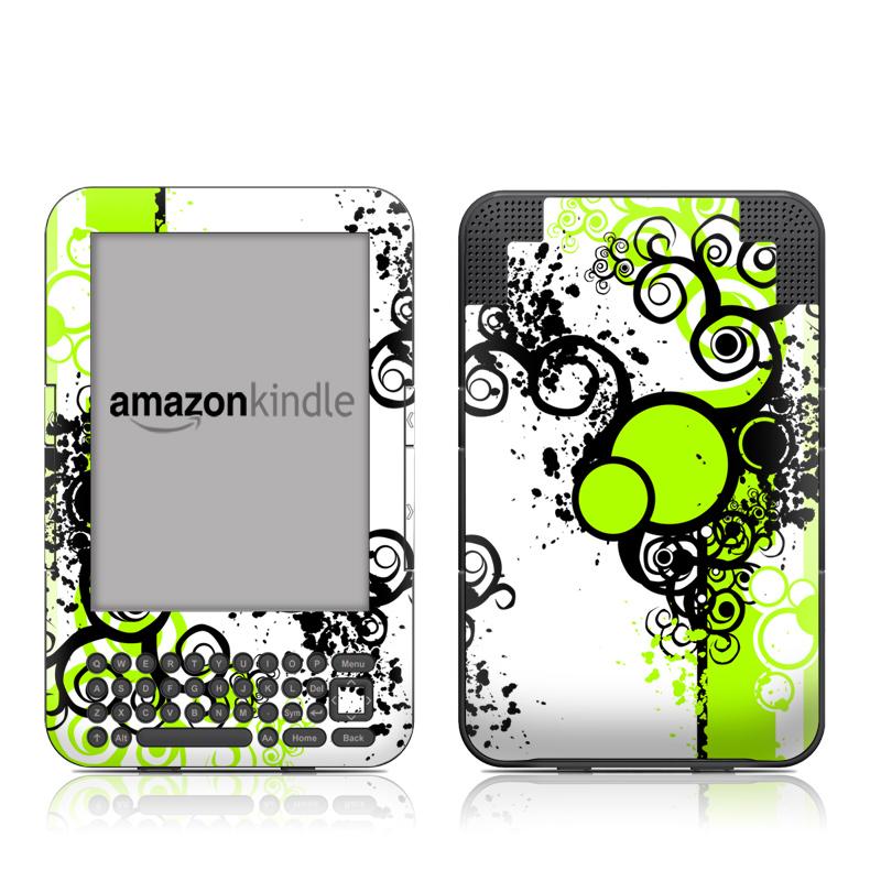 Simply Green Amazon Kindle Keyboard Skin