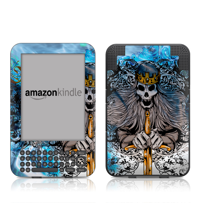 Skeleton King Amazon Kindle Keyboard Skin