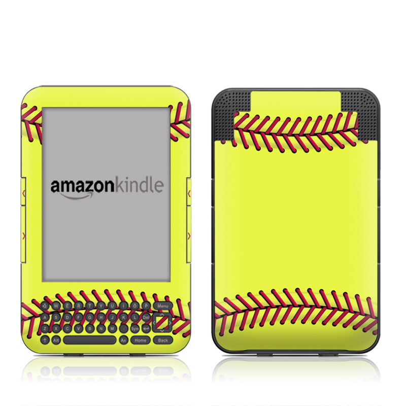 Softball Amazon Kindle 3 Skin
