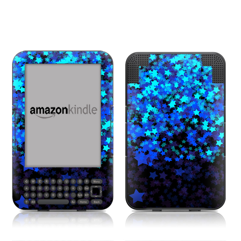 Stardust Winter Amazon Kindle Keyboard Skin