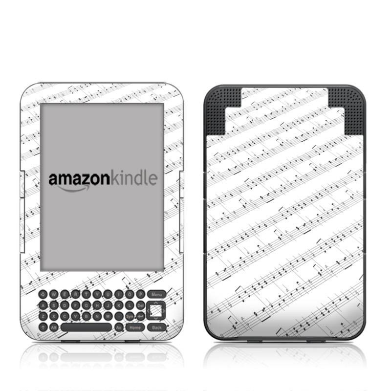 Symphonic Amazon Kindle Keyboard Skin
