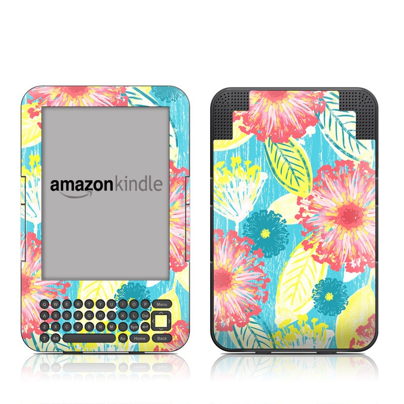 Tickled Peach Amazon Kindle Keyboard Skin