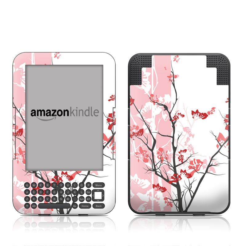 Pink Tranquility Amazon Kindle Keyboard Skin
