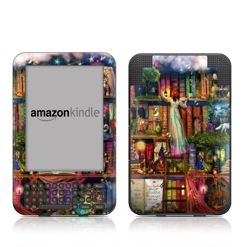 Treasure Hunt Amazon Kindle Keyboard Skin