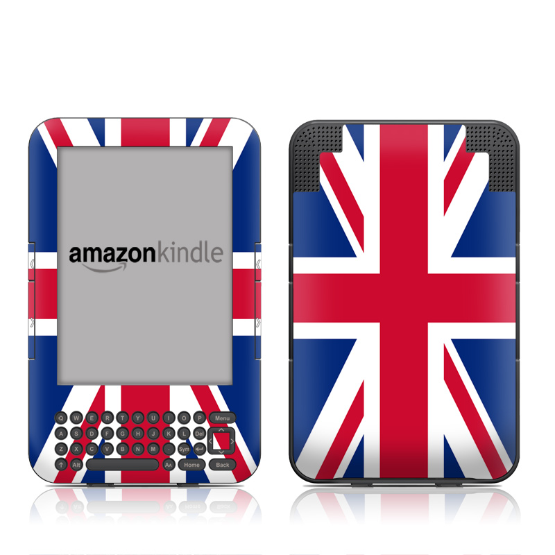 Union Jack Amazon Kindle 3 Skin