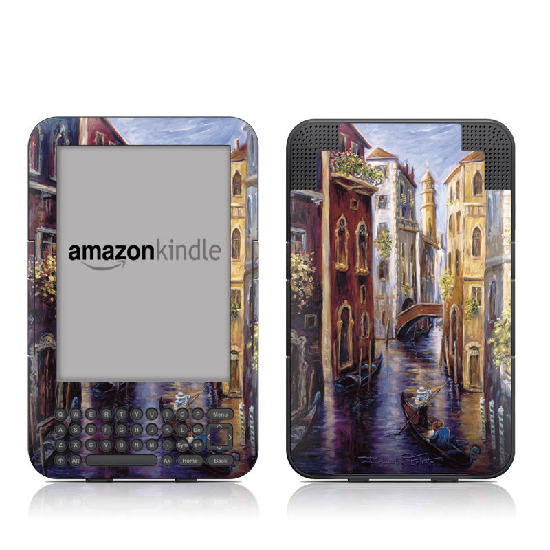 Venezia Amazon Kindle 3 Skin