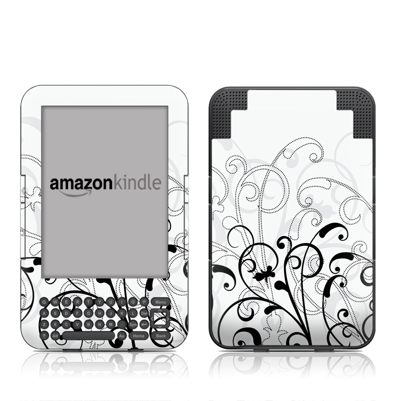 W&B Fleur Amazon Kindle Keyboard Skin