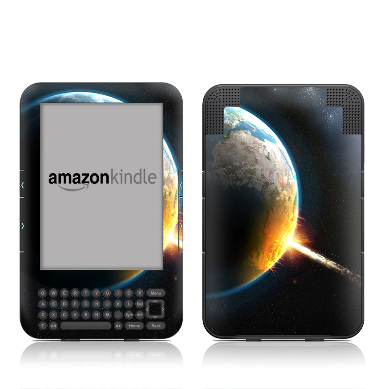 World Killer Amazon Kindle Keyboard Skin
