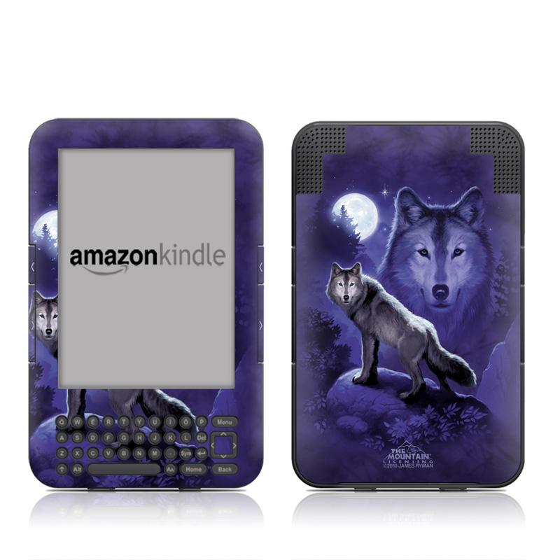 Wolf Amazon Kindle 3 Skin