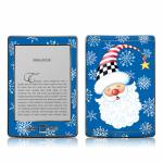 Santa Snowflake Amazon Kindle 4 Skin