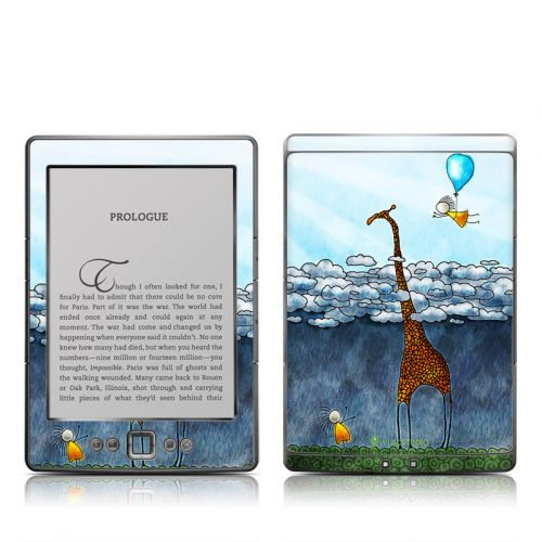 Above The Clouds Amazon Kindle 4 Skin
