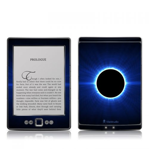 Blue Star Eclipse Amazon Kindle 4 Skin