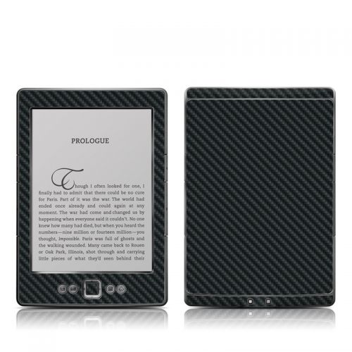 Carbon Amazon Kindle 4 Skin