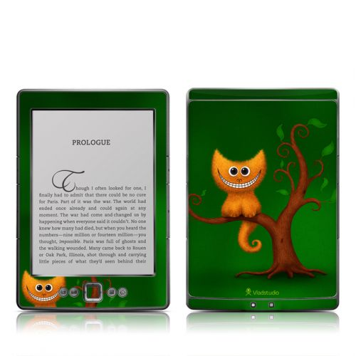 Cheshire Kitten Amazon Kindle 4 Skin