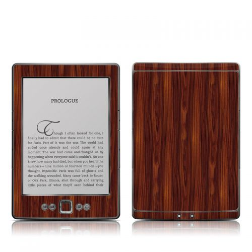 Dark Rosewood Amazon Kindle 4 Skin