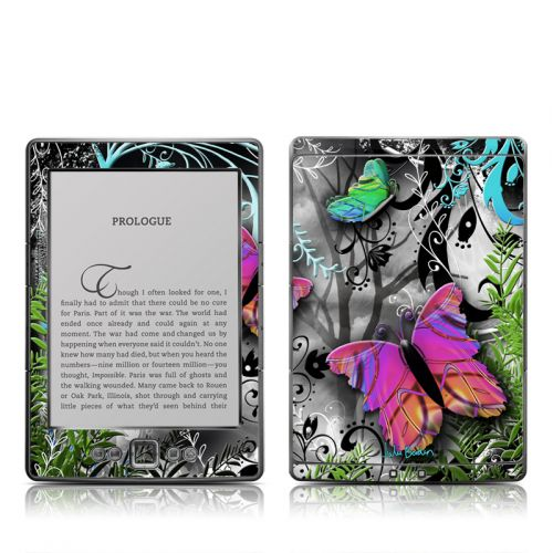 Goth Forest Amazon Kindle 4 Skin