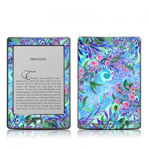 Lavender Flowers Amazon Kindle 4 Skin