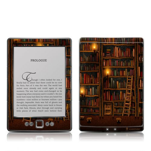 Library Amazon Kindle 4 Skin