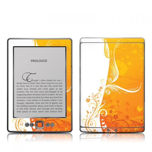 Orange Crush Amazon Kindle 4 Skin