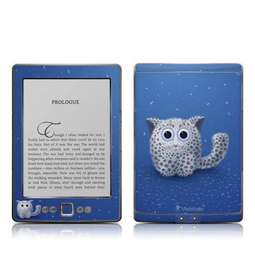 Snow Leopard Amazon Kindle 4 Skin