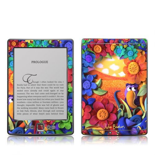 Summerbird Amazon Kindle 4 Skin