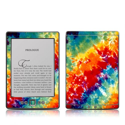 Tie Dyed Amazon Kindle 4 Skin