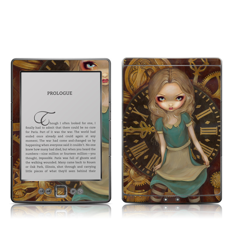 Alice Clockwork Amazon Kindle 4 Skin