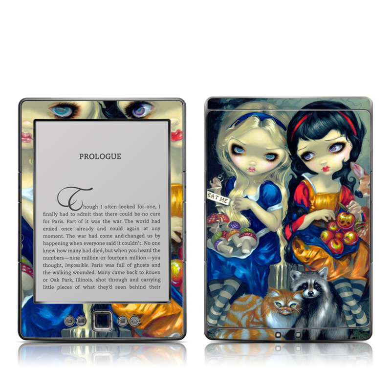 Alice & Snow White Amazon Kindle 4 Skin
