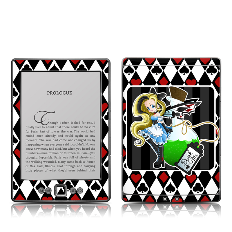 Alice Amazon Kindle 4 Skin