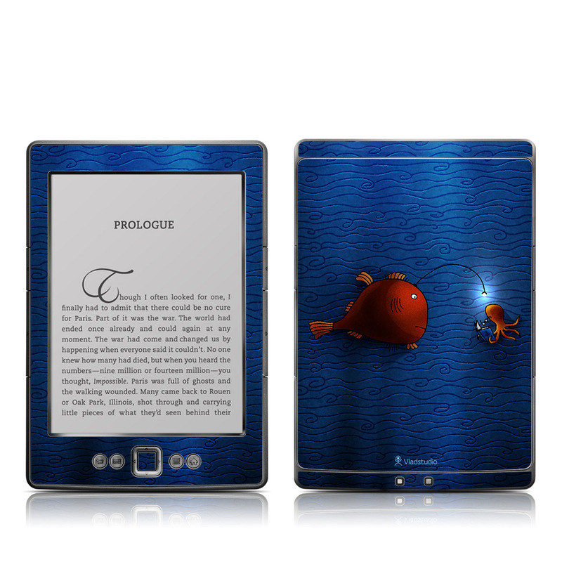 Angler Fish Amazon Kindle 4 Skin