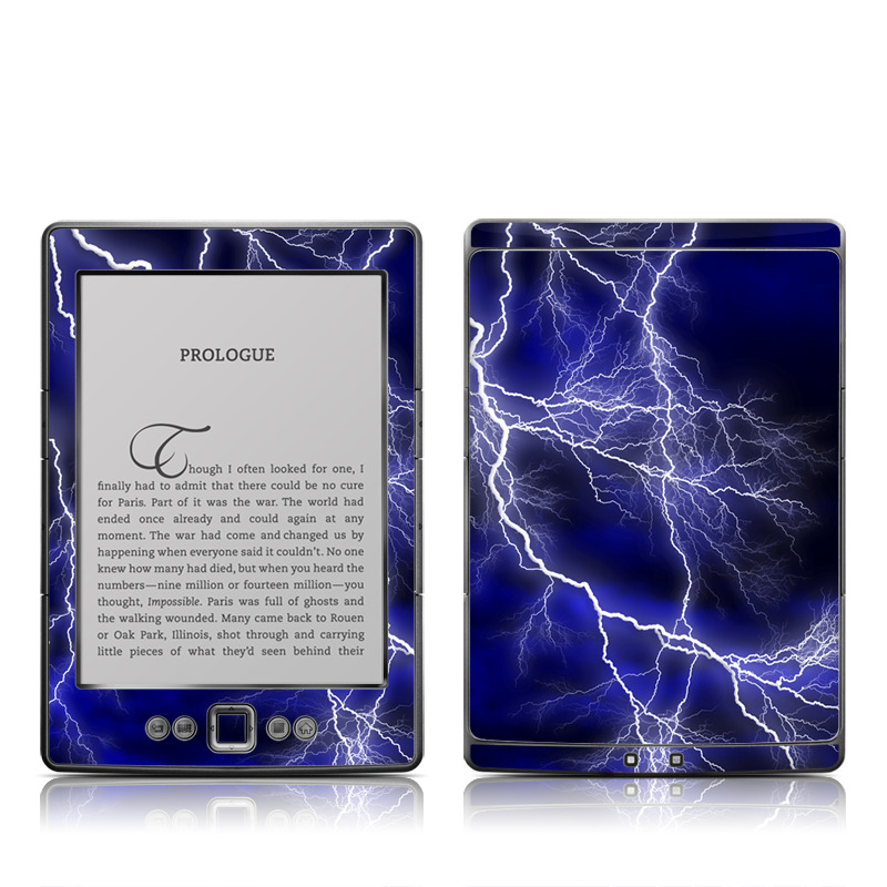 Apocalypse Blue Amazon Kindle 4 Skin