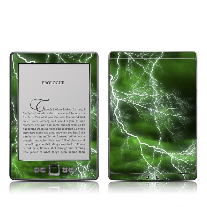 Apocalypse Green Amazon Kindle 4 Skin