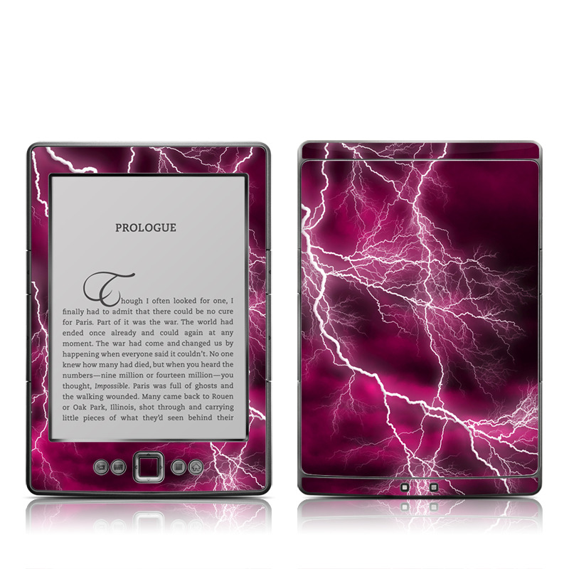 Apocalypse Pink Amazon Kindle 4 Skin