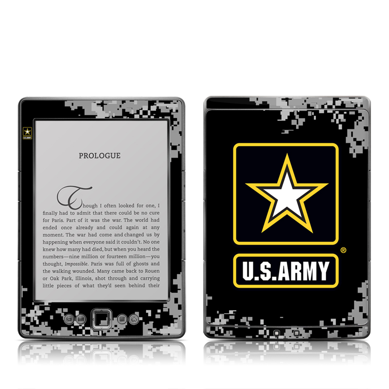 Army Pride Amazon Kindle 4 Skin